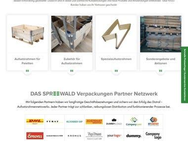 http://www.spreewald-verpackungen.de/ - Laravel
