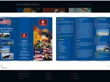 Tri-fold Brochure samples(2)