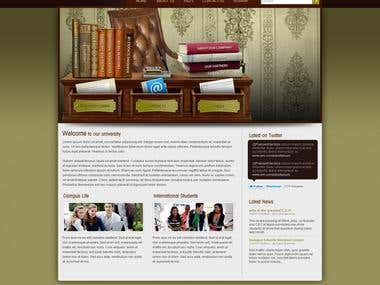 Study Life Wordpress Site