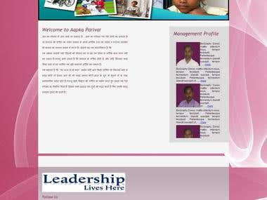 AapkaParivar MLM Project http://aapkaparivar.com/