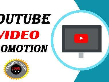 I will do SEO on youtube video promotion to 10m followers