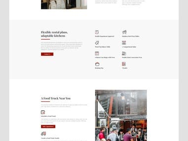 Anapura Kitchen Rent Landing Page Design