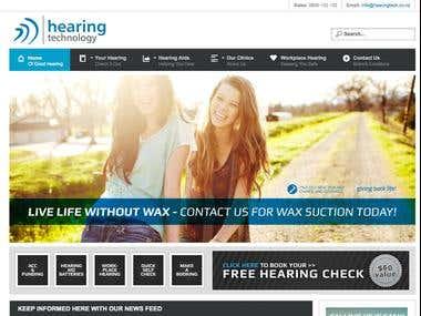 Hearing Tech Website