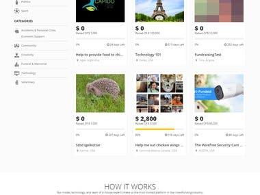 Crowd Funding Platform
