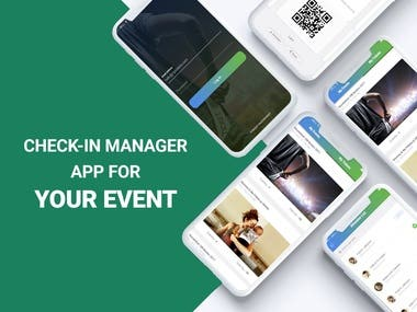 Events Check-In Manager Mobile Apps