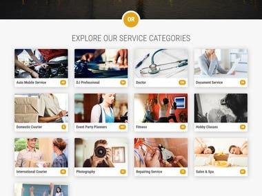 Service Finder Website