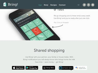 Clever shopping with Bring! - get the App for iPhone & Andro