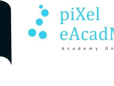 Pixel eAcadmy logo For CODE.B