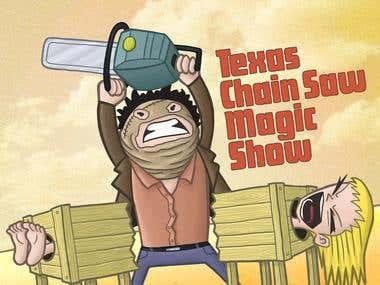 Texas Chain Saw Magic Show