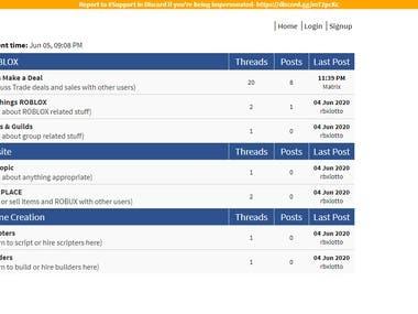 Install and repair PHP Script