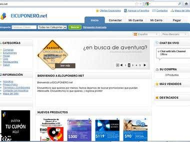 Elcuponero Website