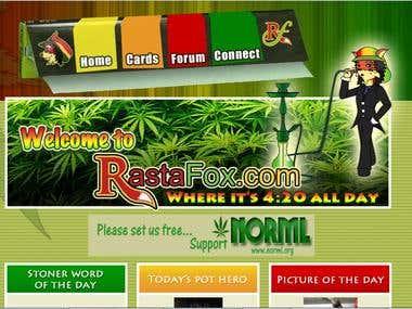 Rastafox site