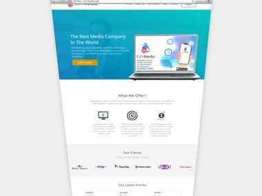 Website for ExtrMedia