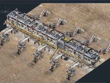 3D modelling from point cloud