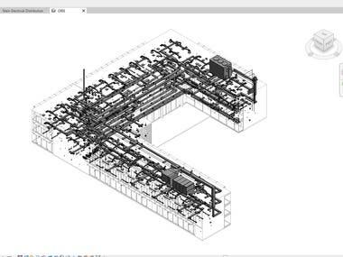 3D BIM modelling with Revit MEP