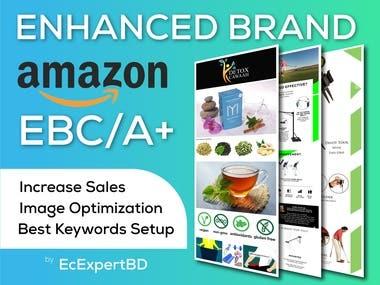 Amazon EBC / Enhanced Brand Content / A + Content / EMC