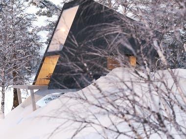 Sky Pod - Cabin design & renderings