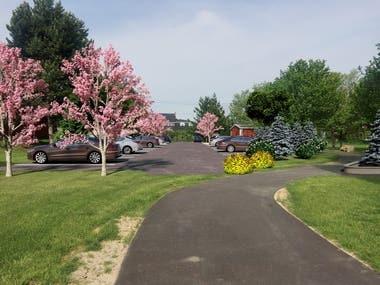 Landscape Design Samples - 3D Model