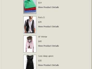 Online Shop (Paypal Intregrated)