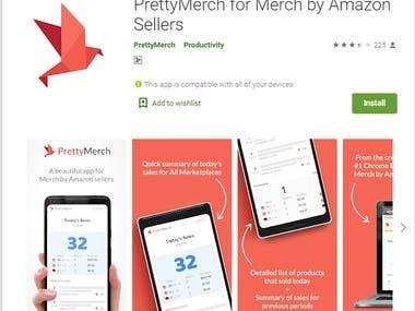 PrettyMerch for Merch by Amazon Sellers
