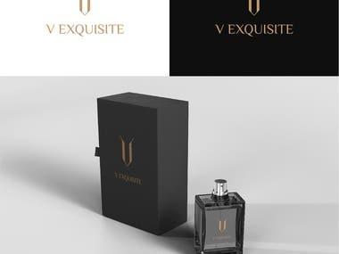 Luxury letter V