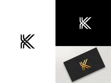 Luxury letter K
