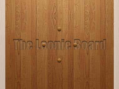Wood Loonie Board