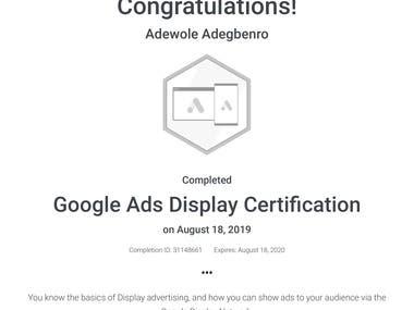 Good Ads Display Certification