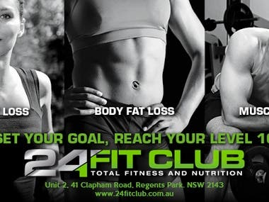 24 Fit Club Facebook Page