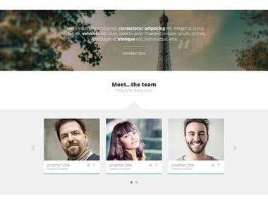 Roran HTML5 Web template