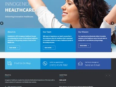 Medical Health Website