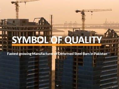 Faizan Steel Website