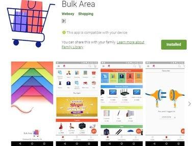 Bulk Area (App + Web)