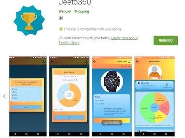 Jeeto360 (App + Web)