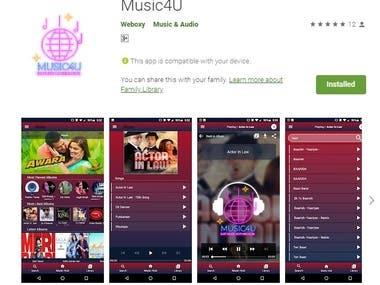 Music4u (App + Web)