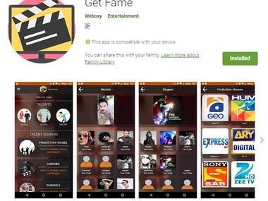 Get Fame (App + Web)