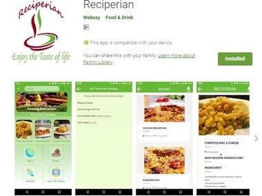 Reciperian.com (App + Web)