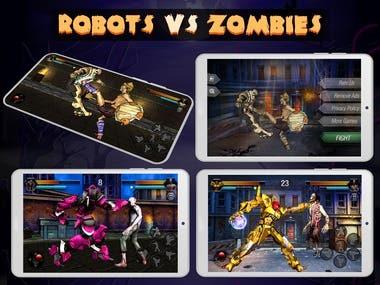 Tekken Style Fighting Game