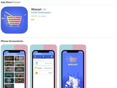 Wizcart (Self-scanning and self-service)