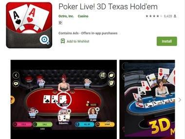 Poker Live ! 3D
