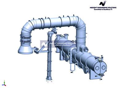 Design and Development of Surface condenser using ASME code.