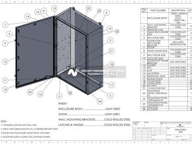 Neocent Sheet-metal CAD Service