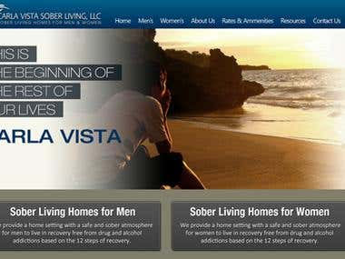 Carla Vista Sober Living WP Theme