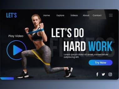 UI / UX Mobile Website Design