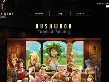 Bushwood Spirits - Shop Php Website