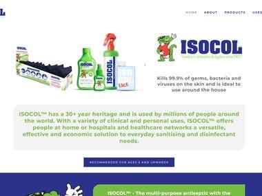 Squarespace Website Isocolglobal.com