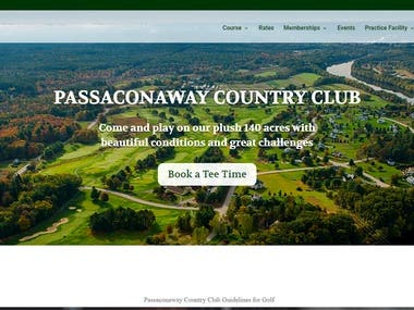 PASSACONAWAY COUNTRY CLUB