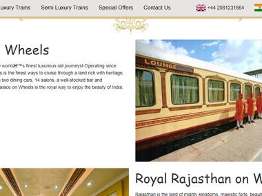 The Luxury Trains India