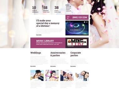 React & Laravel Dating Website