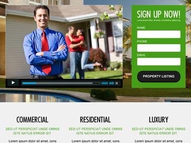 React & Laravel Real estate website